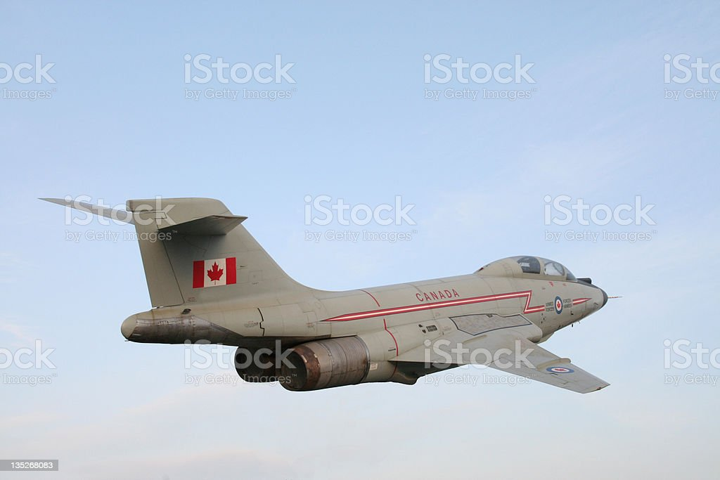 Canadian Fighter Plane stock photo