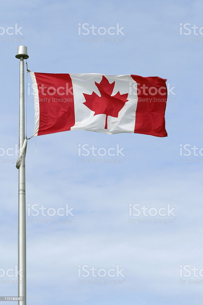 Canadian Flag - 2 royalty-free stock photo