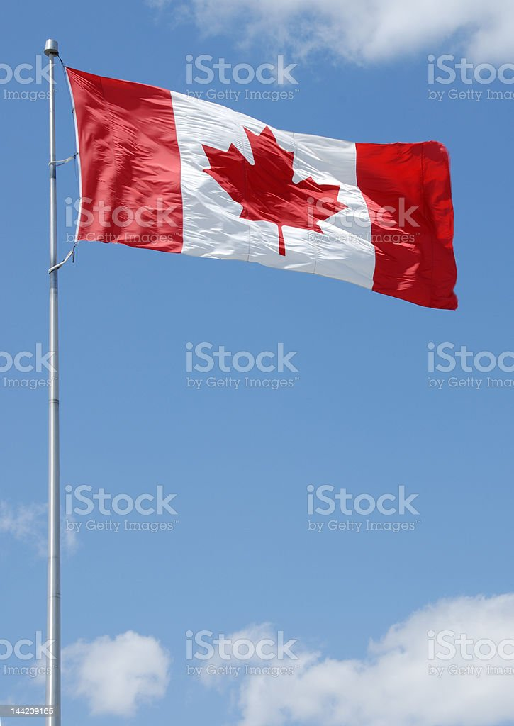 Canadian Flag Series royalty-free stock photo