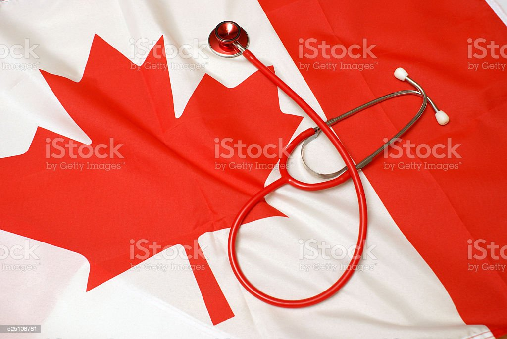 Canadian Healthcare System stock photo