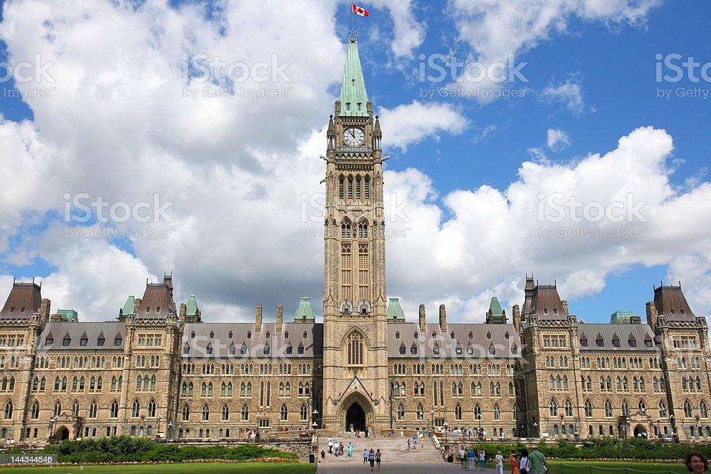 Canadian House of Parliament, Ottawa, Canada stock photo