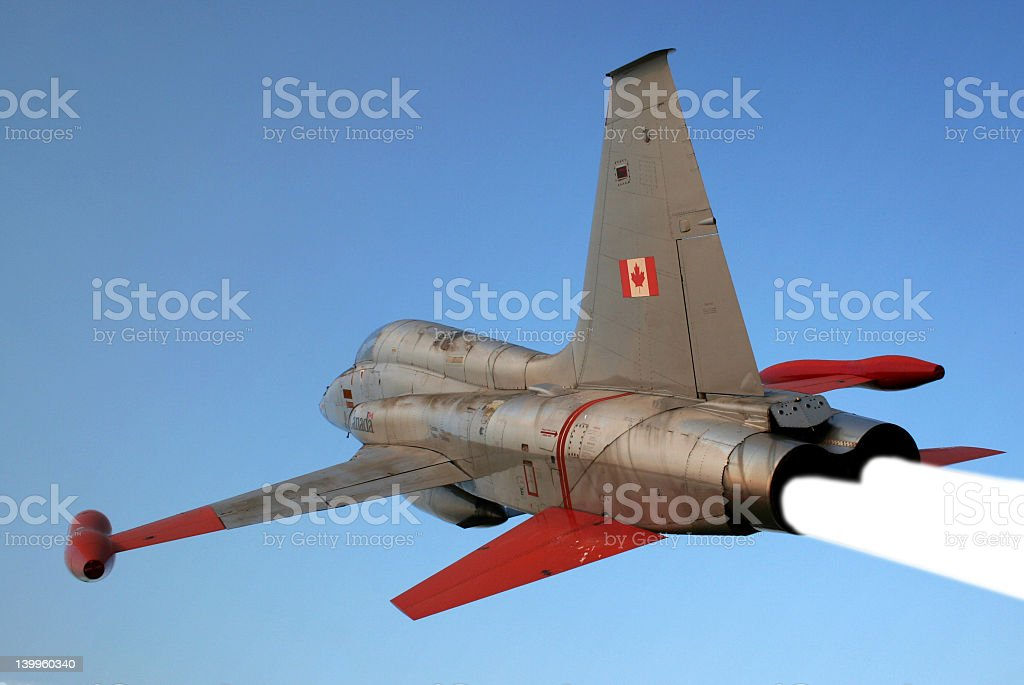 Canadian Jet royalty-free stock photo