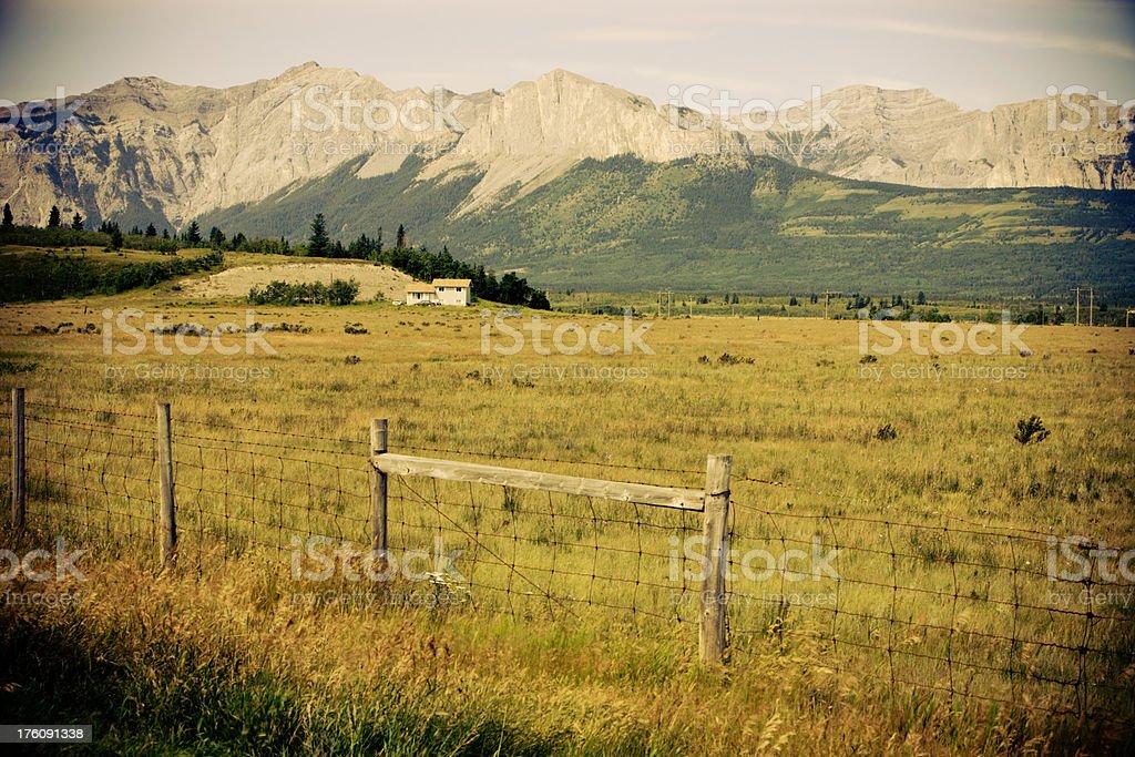 Canadian Landscape royalty-free stock photo
