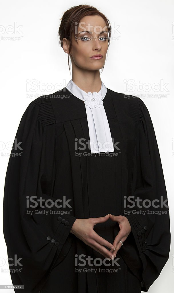 Canadian lawyer stock photo