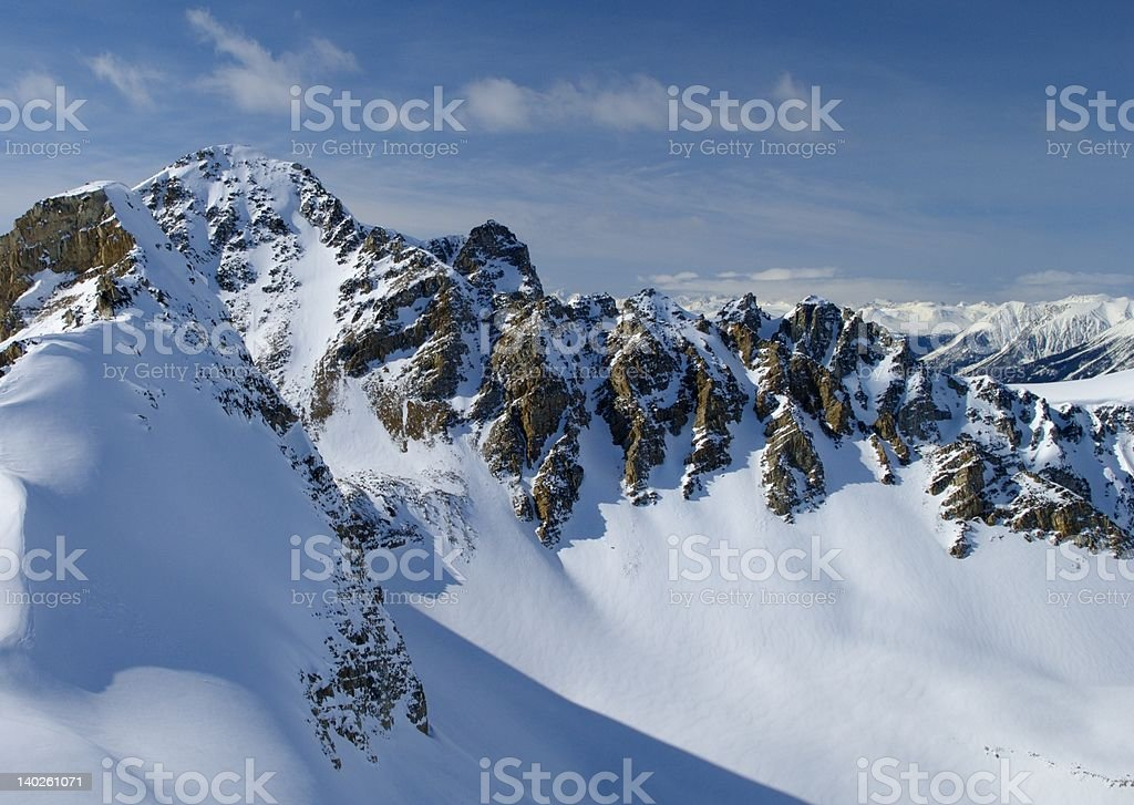 Canadian Mountains royalty-free stock photo