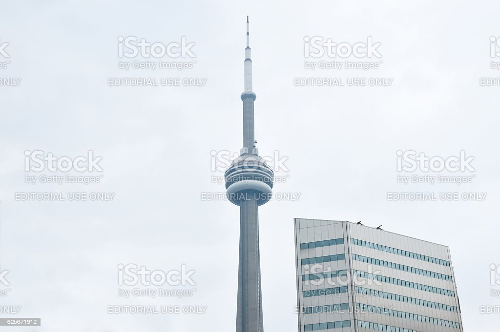 Canadian National (CN) Tower stock photo