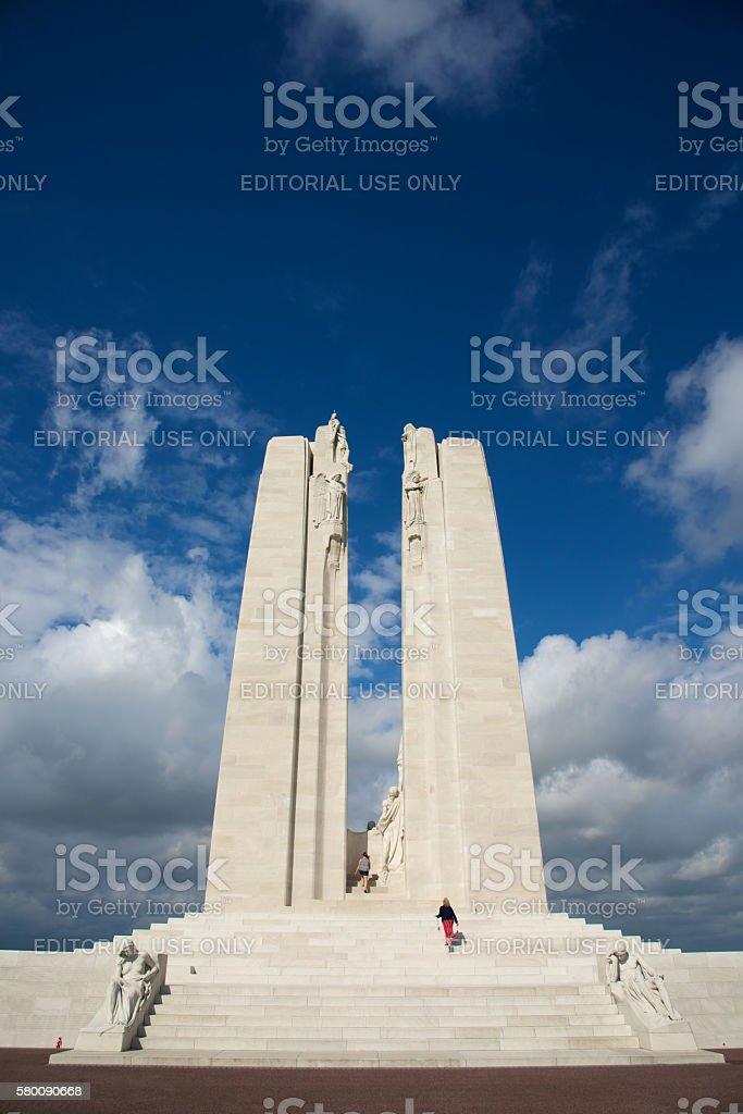 Canadian National Vimy Memorial stock photo