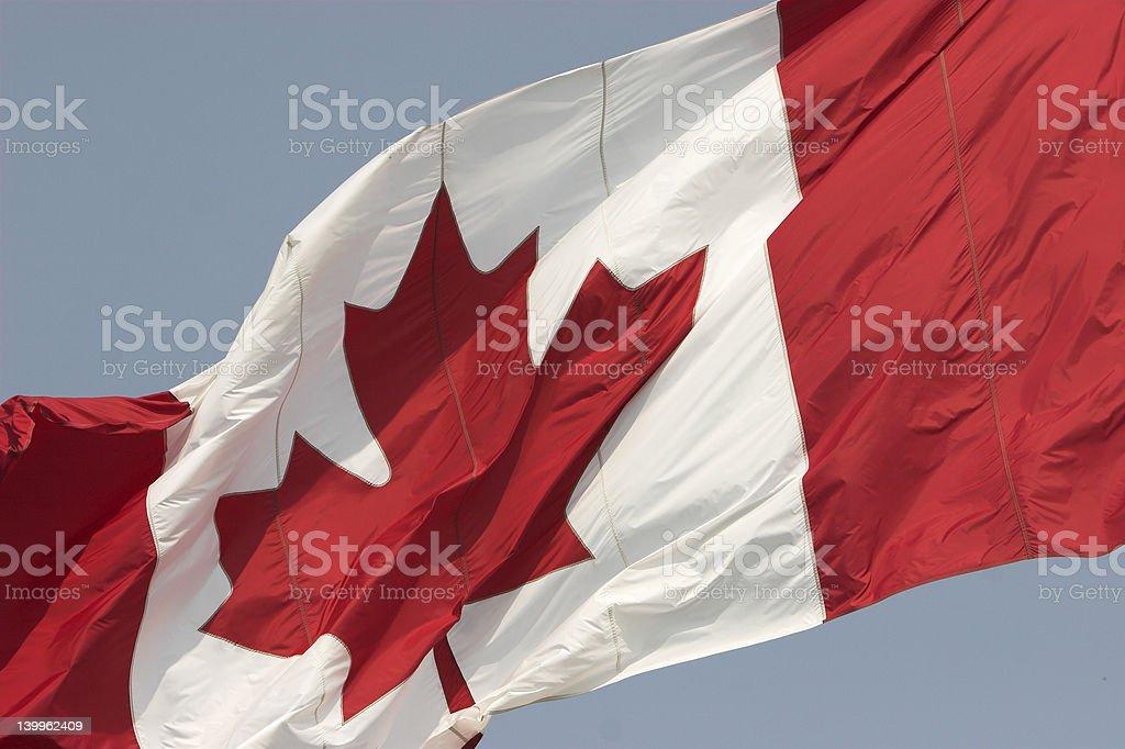 canadian pride stock photo