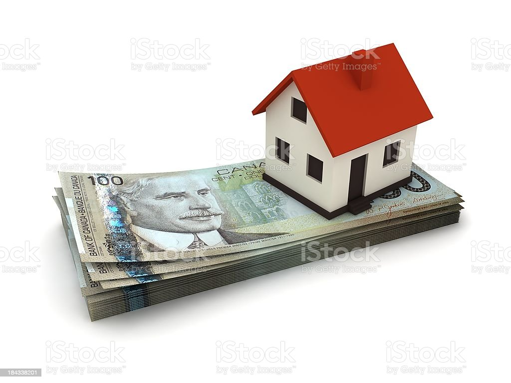 Canadian Real Estate royalty-free stock photo