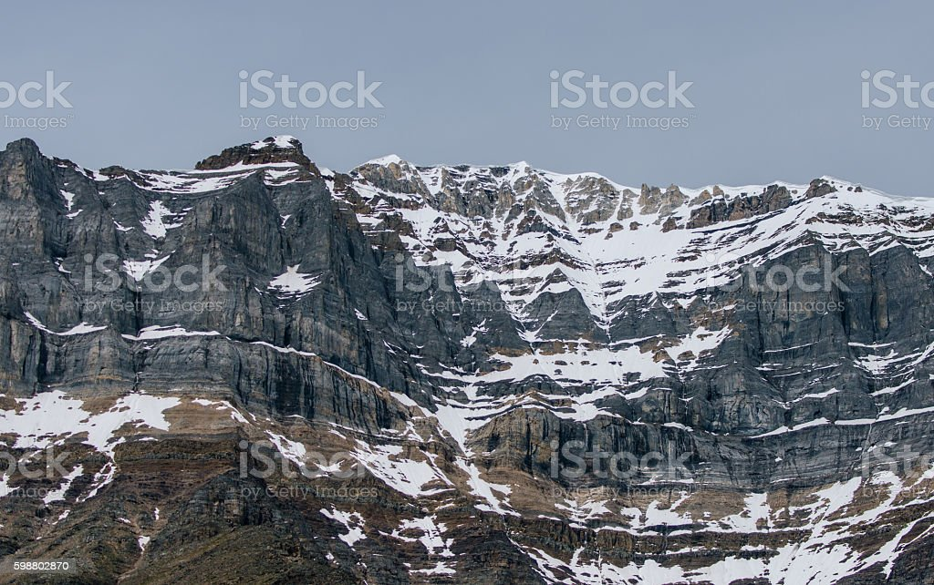 Canadian Rockies, Banff NP stock photo