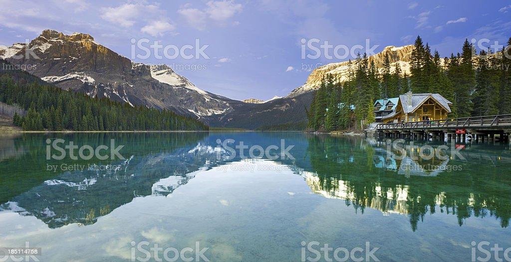 Canadian Rockies, Canada stock photo