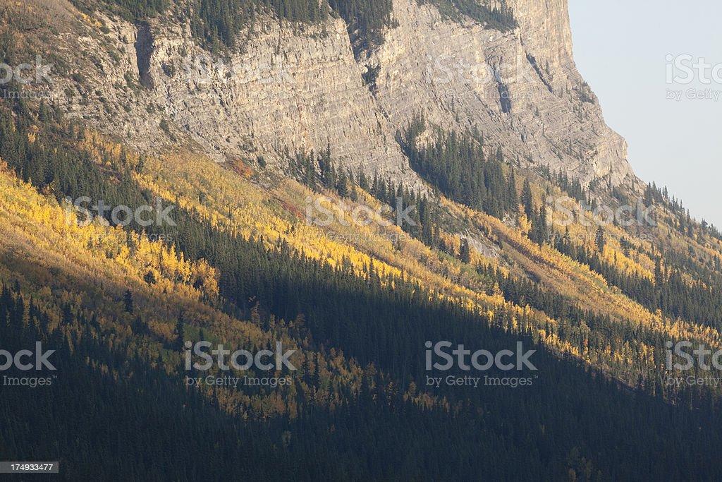 Canadian Rockies royalty-free stock photo