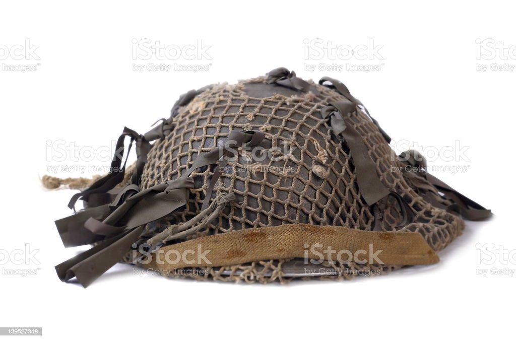 WW2 Canadian/British Helmet royalty-free stock photo