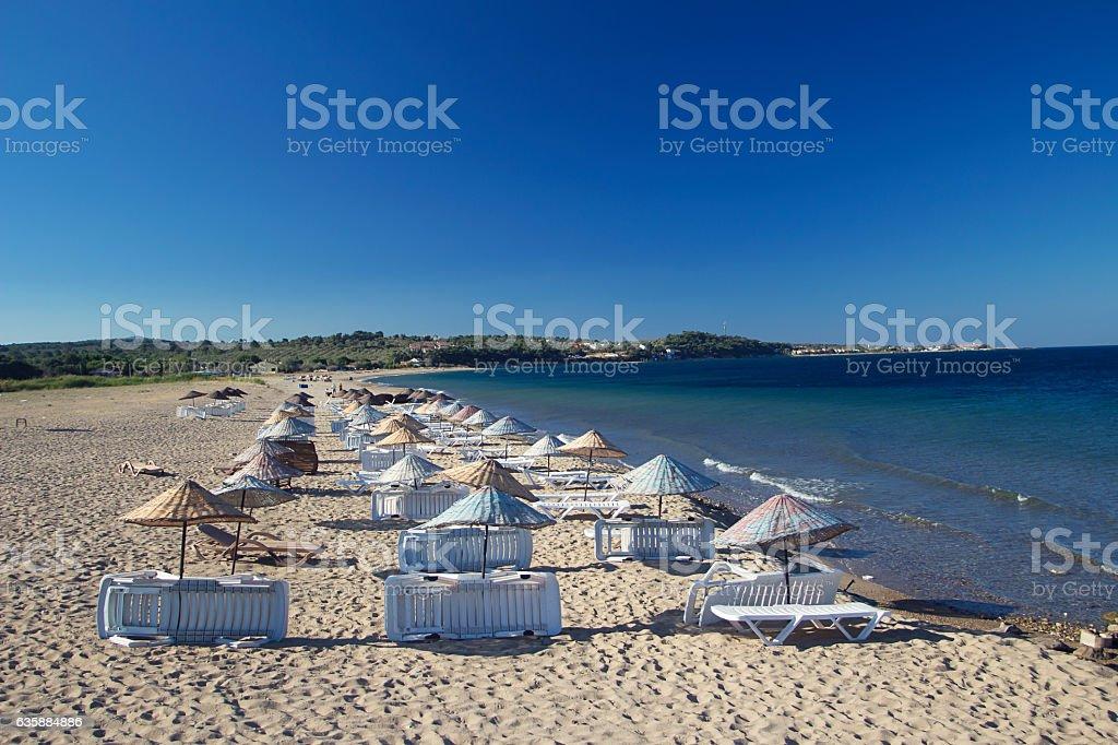 Canakkale Beach stock photo