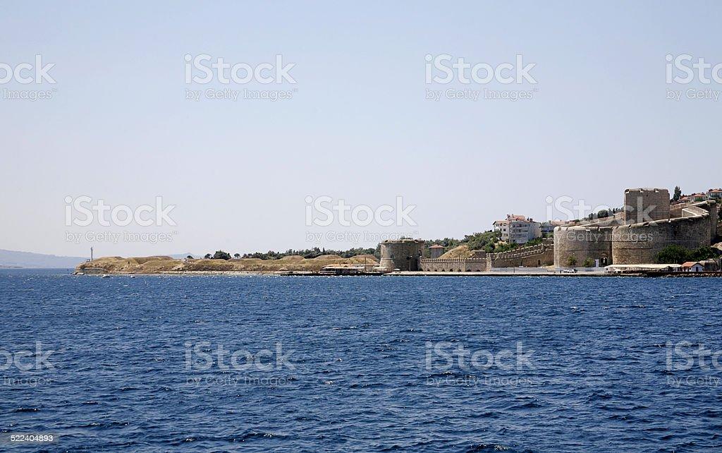 Canakkale Castle stock photo