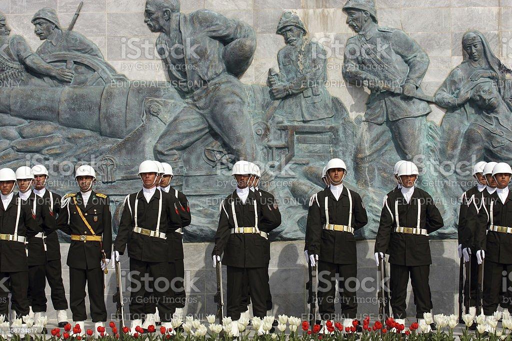 Canakkale Monument royalty-free stock photo