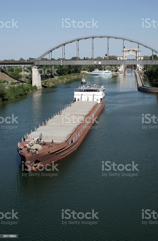Canal 3 royalty-free stock photo