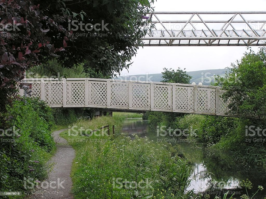 Canal Bridge 3 stock photo