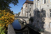 Canal des Tanneurs in Dole, France