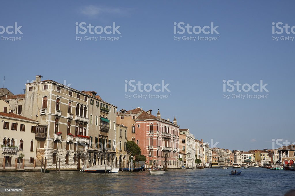 Canal Grande in Venice Italy royalty-free stock photo