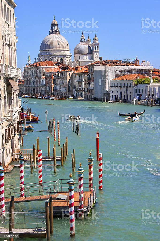 Canal Grande in Venice, Italy royalty-free stock photo