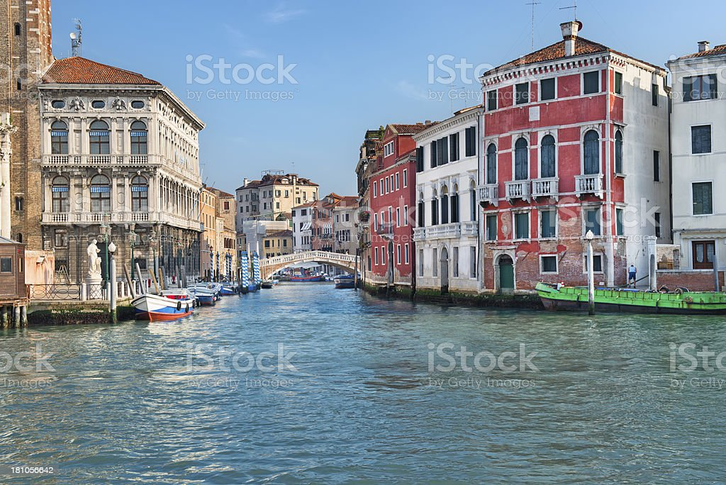 Canal Grande (Venezia) royalty-free stock photo