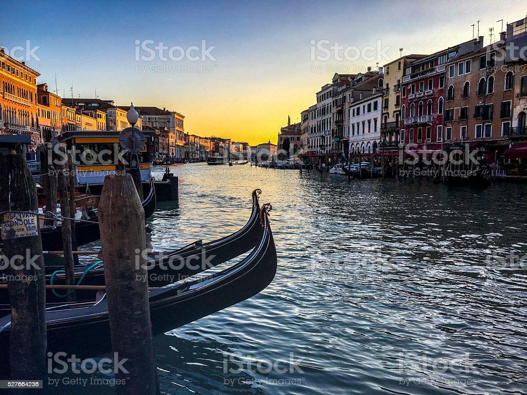 Canal Grande - Venezia, Italy stock photo