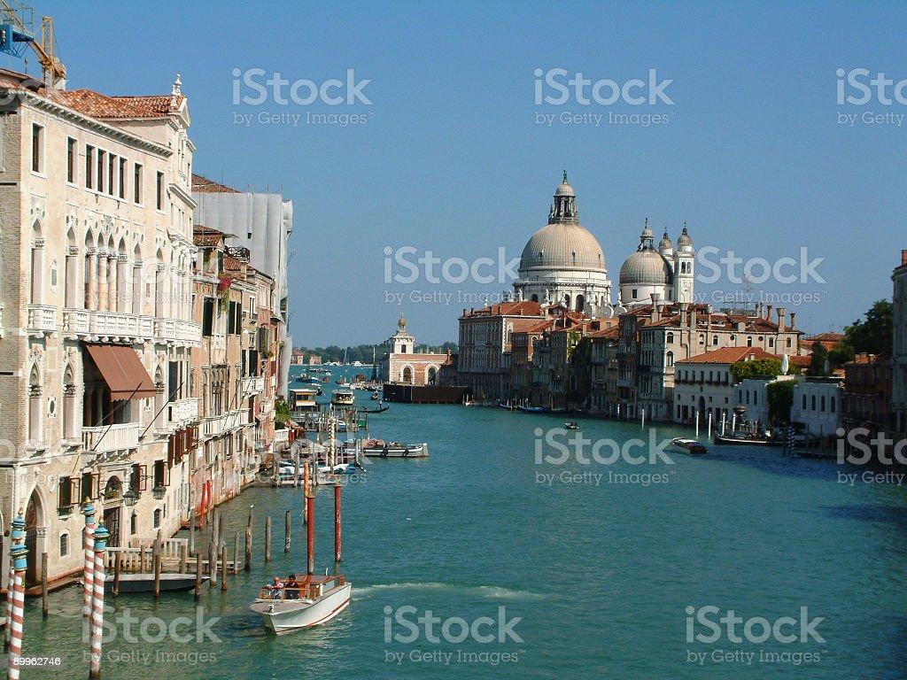 Canal Grande, Venice royalty-free stock photo
