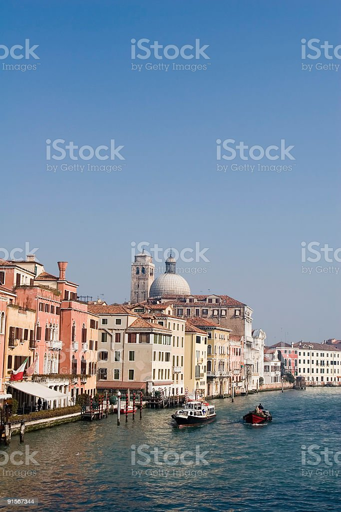 Canal Grande, Venice royalty-free stock photo