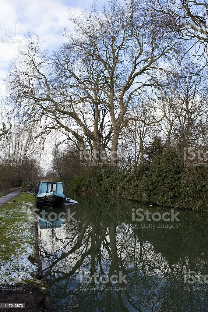 'Canal in Oxford' stock photo