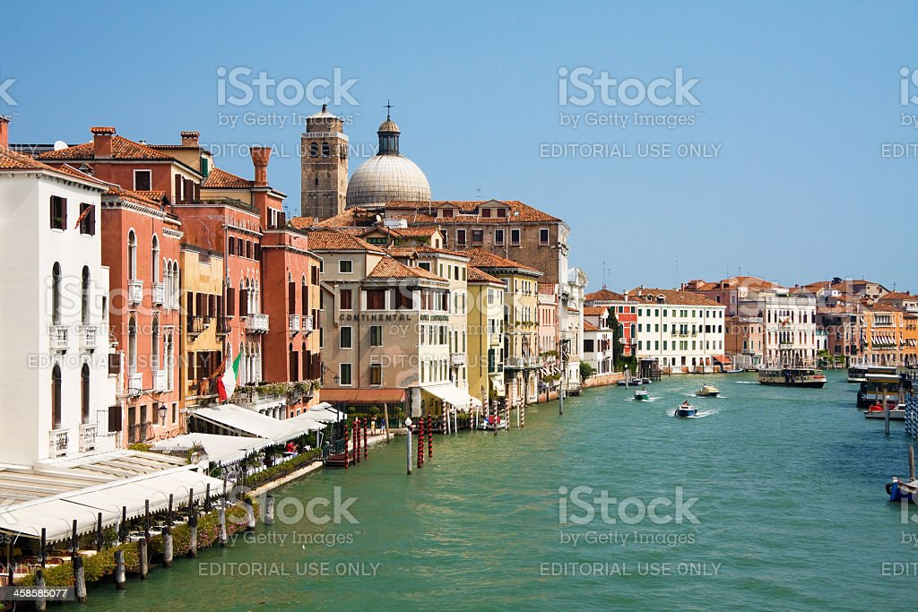 Canal in Venice, Italy royalty-free stock photo