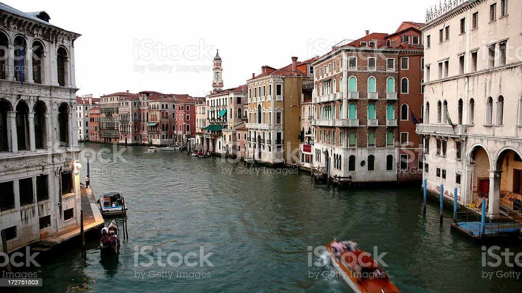 Canal In Venice. royalty-free stock photo