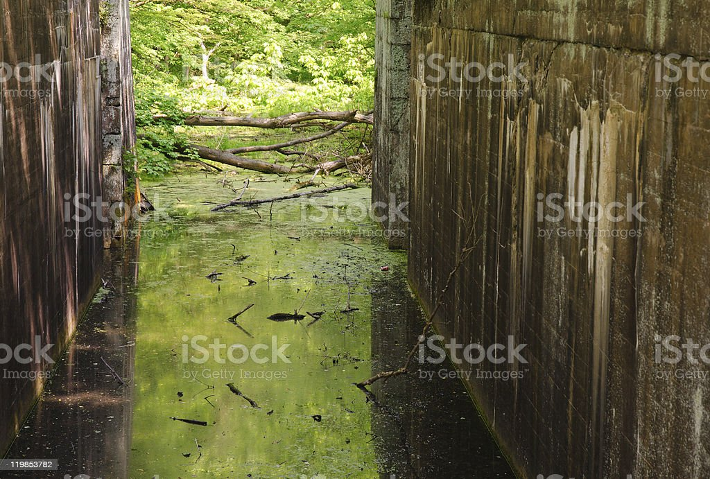 Canal Lock 28 stock photo