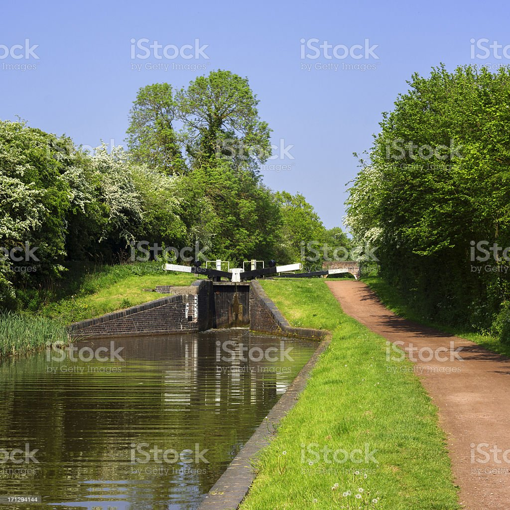 canal stock photo