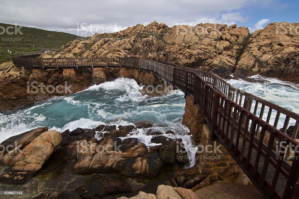 Canal Rocks, Western Australia stock photo