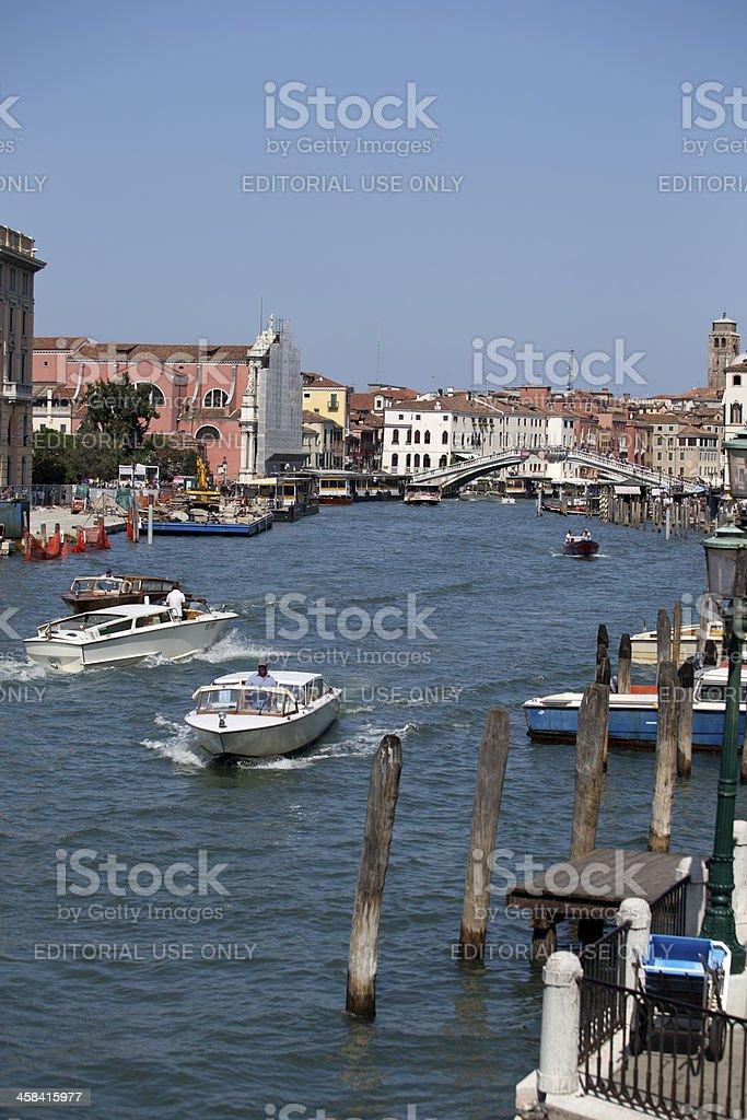 Canal Venice stock photo