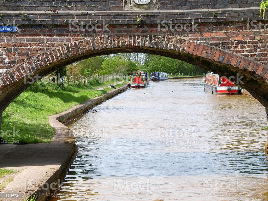 Canal view royalty-free stock photo