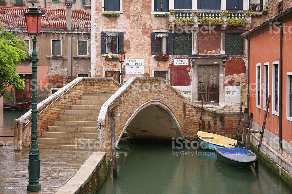 Canale di Venezia royalty-free stock photo