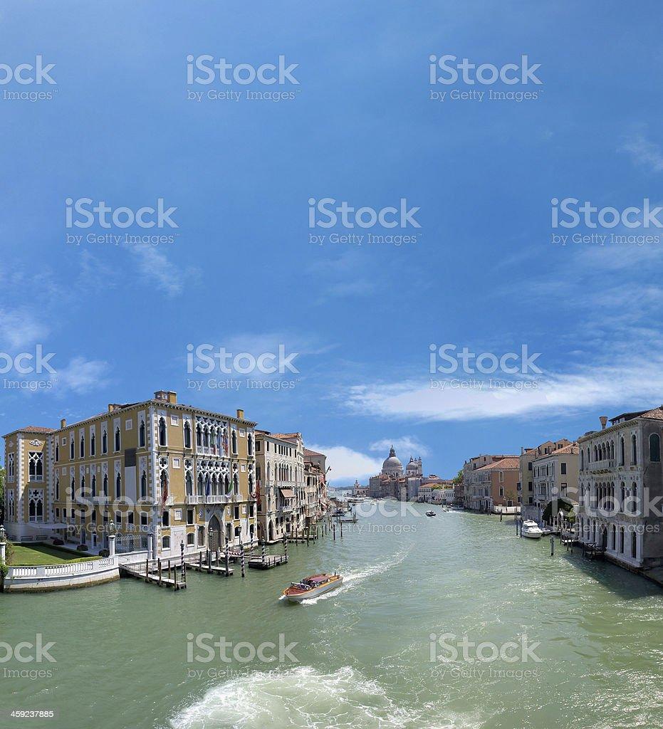 canale grande in veneto royalty-free stock photo
