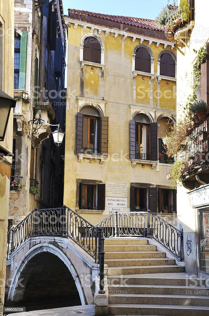 Canale Grande in Venice, Italy stock photo