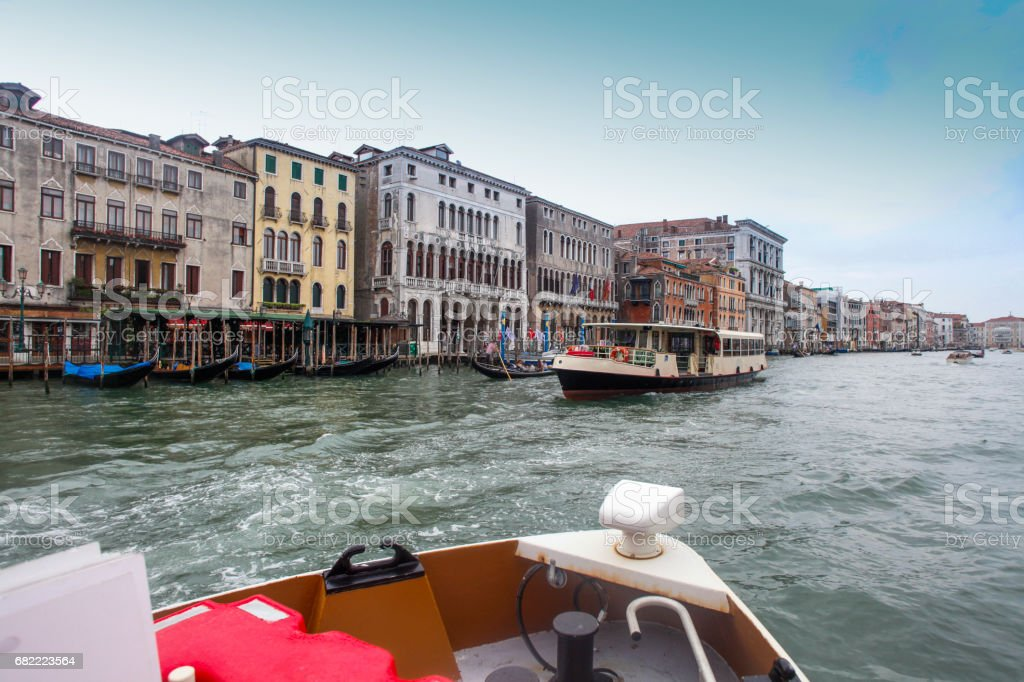 Canale Grande in Venice stock photo
