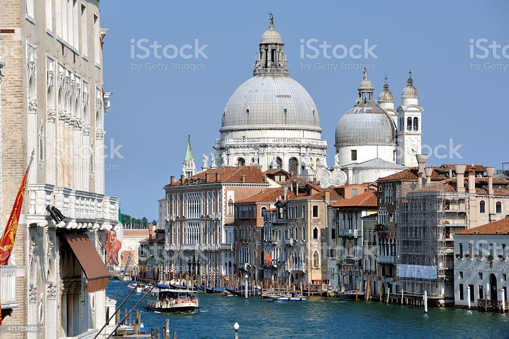 Canals of Venice, Italy royalty-free stock photo