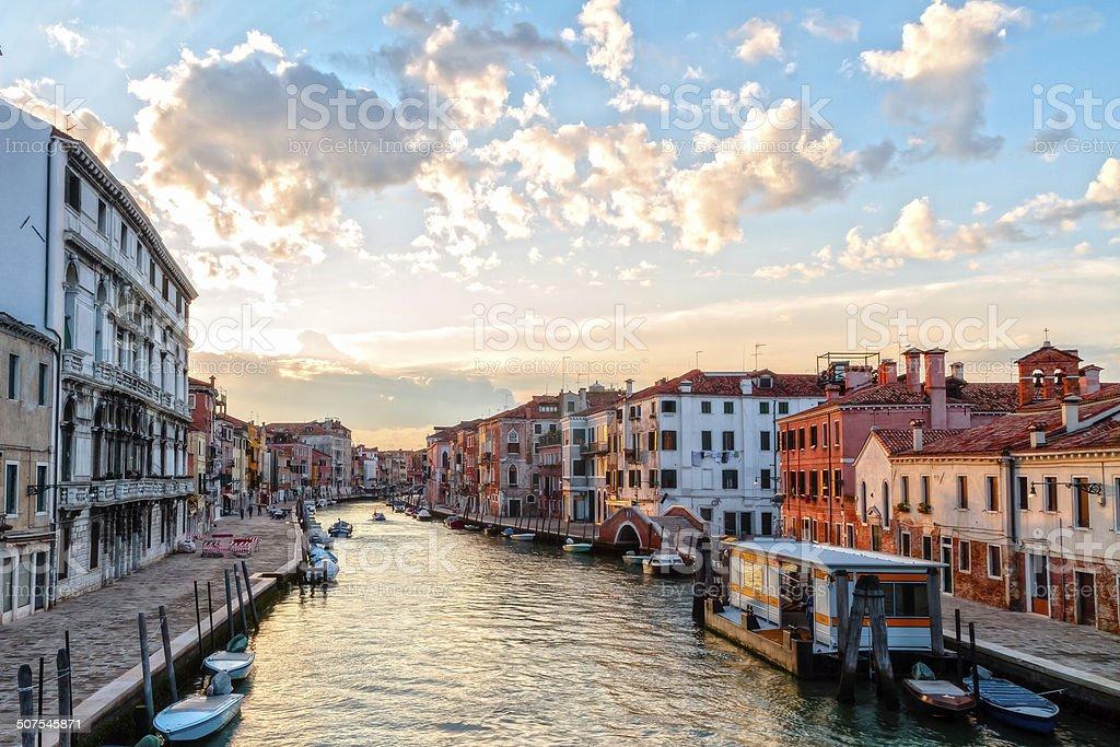 Kanäle von Venedig Lizenzfreies stock-foto
