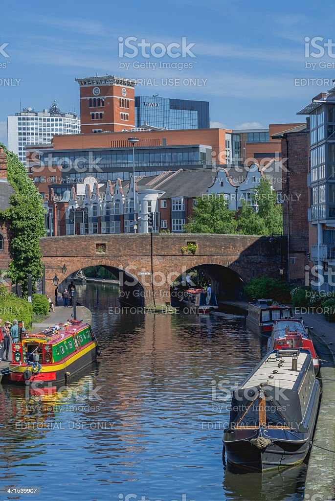 Canals stock photo