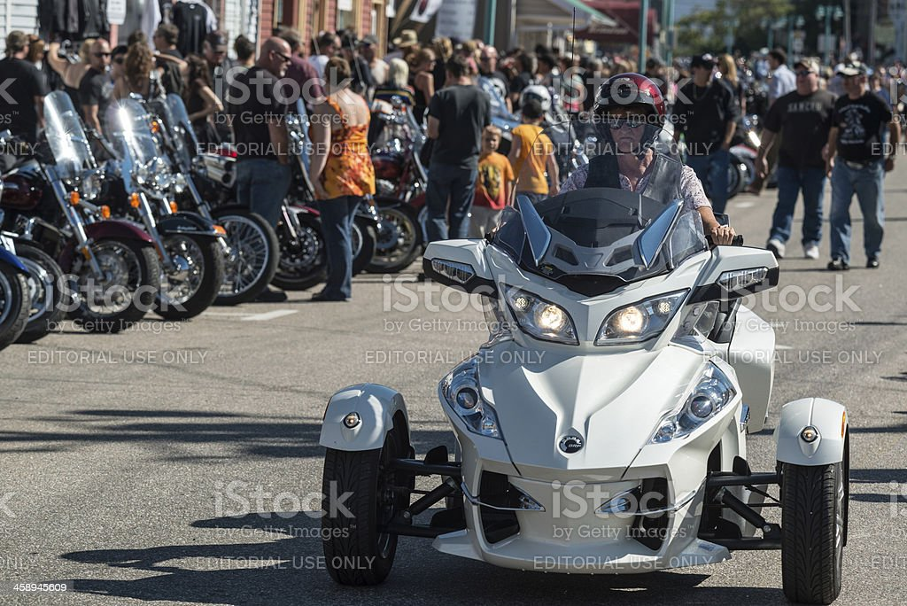 Can-Am Roadster stock photo