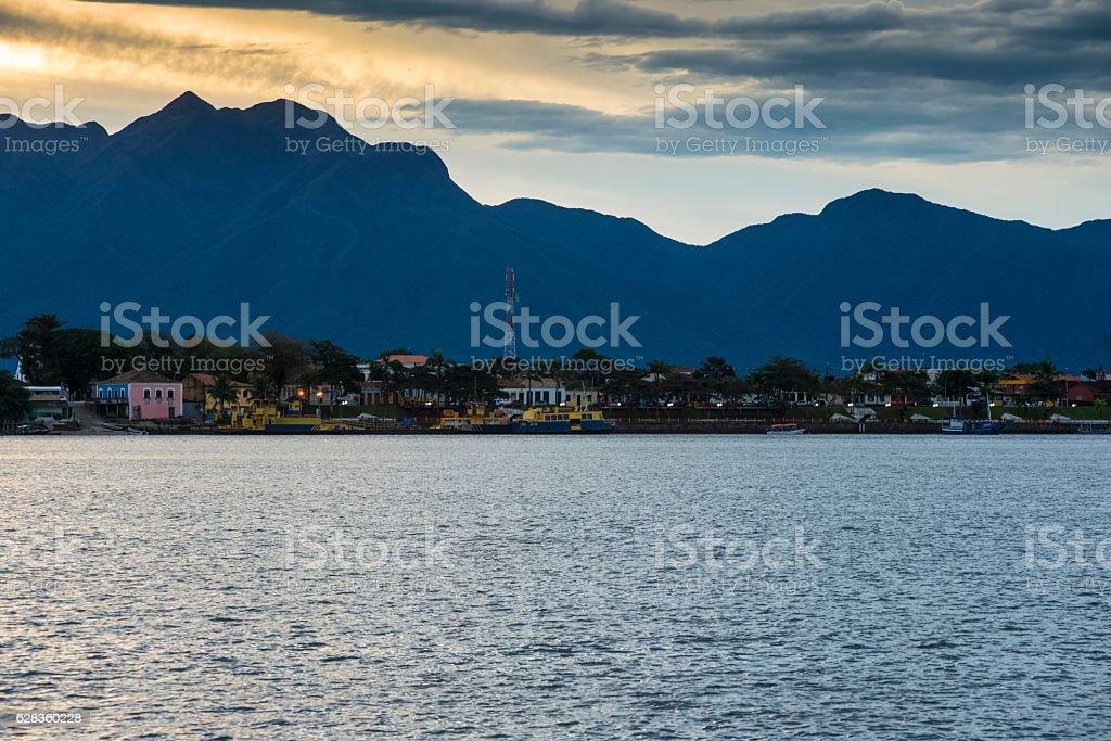 Cananéia city stock photo