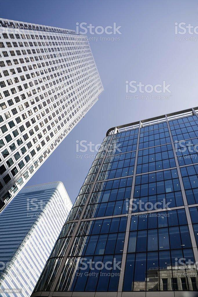 Кэнэри-Уорф-Docklands в Лондоне Стоковые фото Стоковая фотография