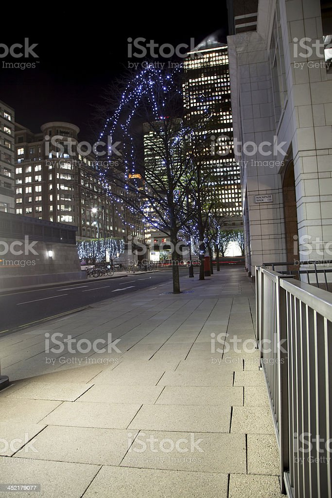 Canary Wharf royalty-free stock photo