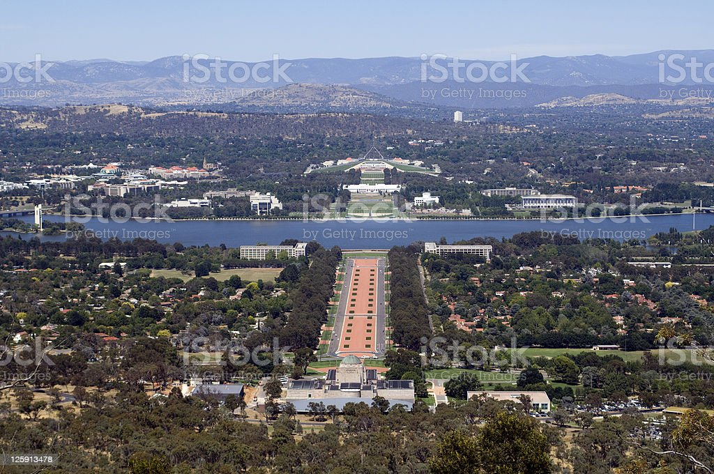 Canberra Australia royalty-free stock photo