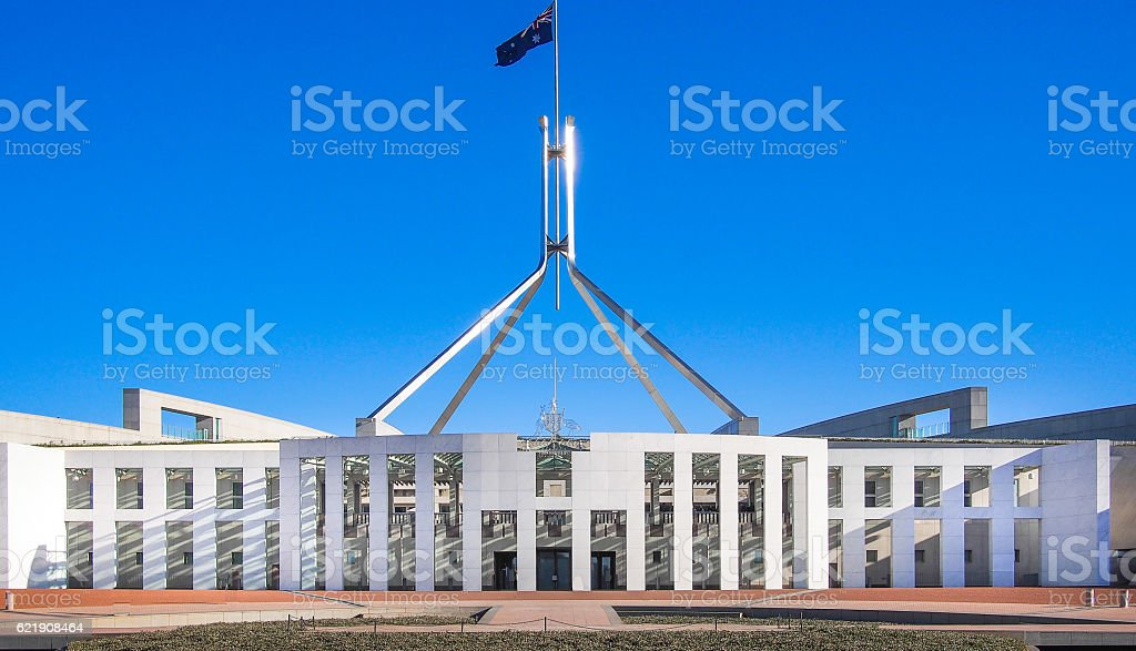 Canberra, Australia stock photo